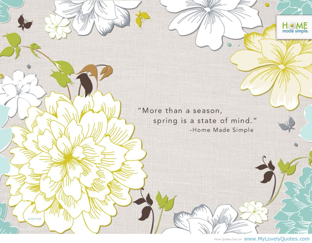 Spring Quotes: Quotes About Spring And Renewal. QuotesGram