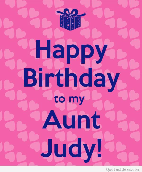 Happy Birthday To My Aunt Quotes. QuotesGram