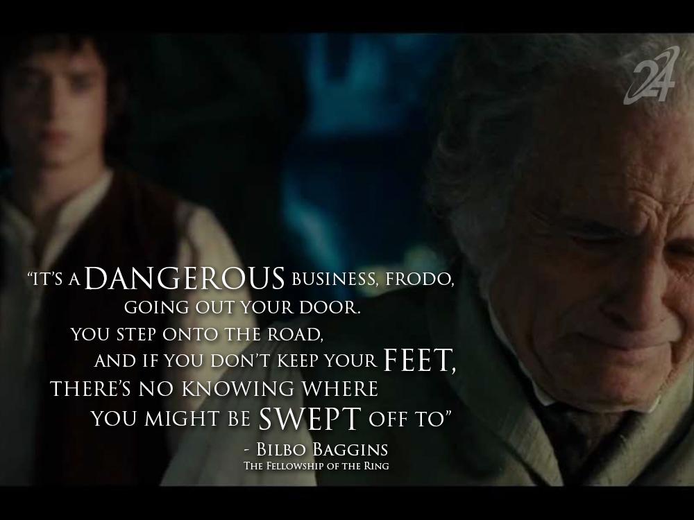 Bilbo Baggins Quotes Road. QuotesGram