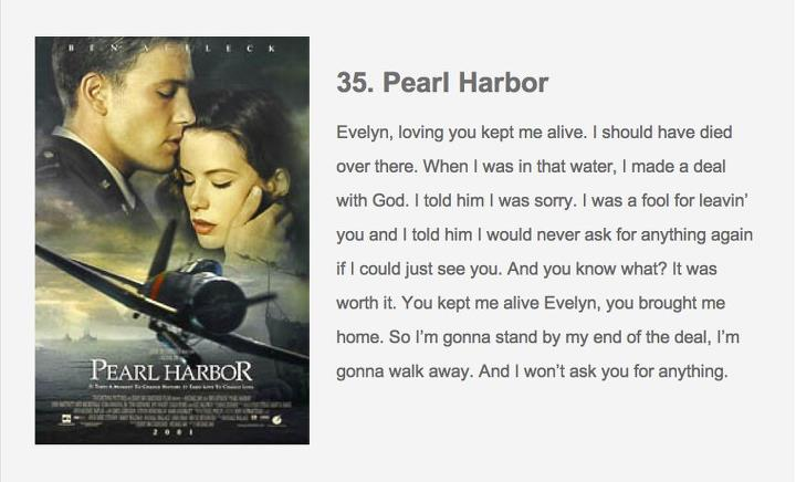 When A Man Loves A Woman Movie Quotes: Pearl Harbor Movie Quotes. QuotesGram