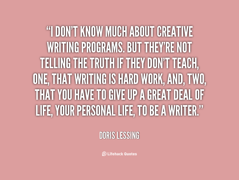 Tony Greenstein Blog: Creative Writing Famous Quotes. QuotesGram
