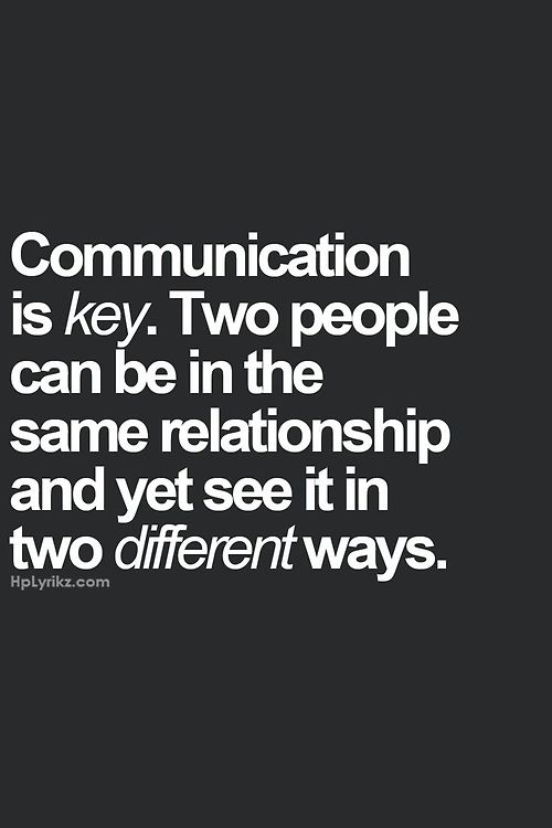 Not On The Same Page Relationship