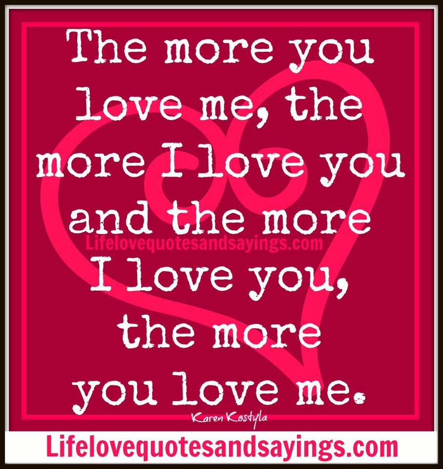 Love Finds You Quote: Quotes Love You More. QuotesGram