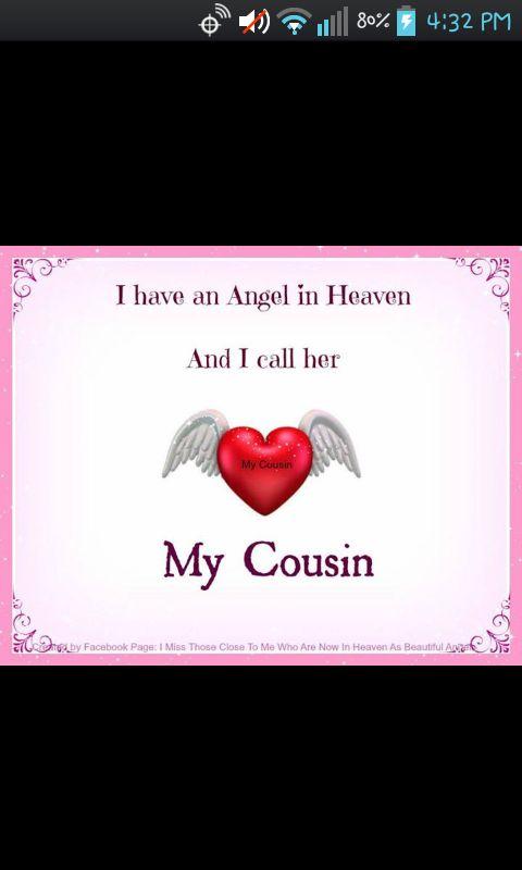 I Miss My Cousin Quotes Quotesgram