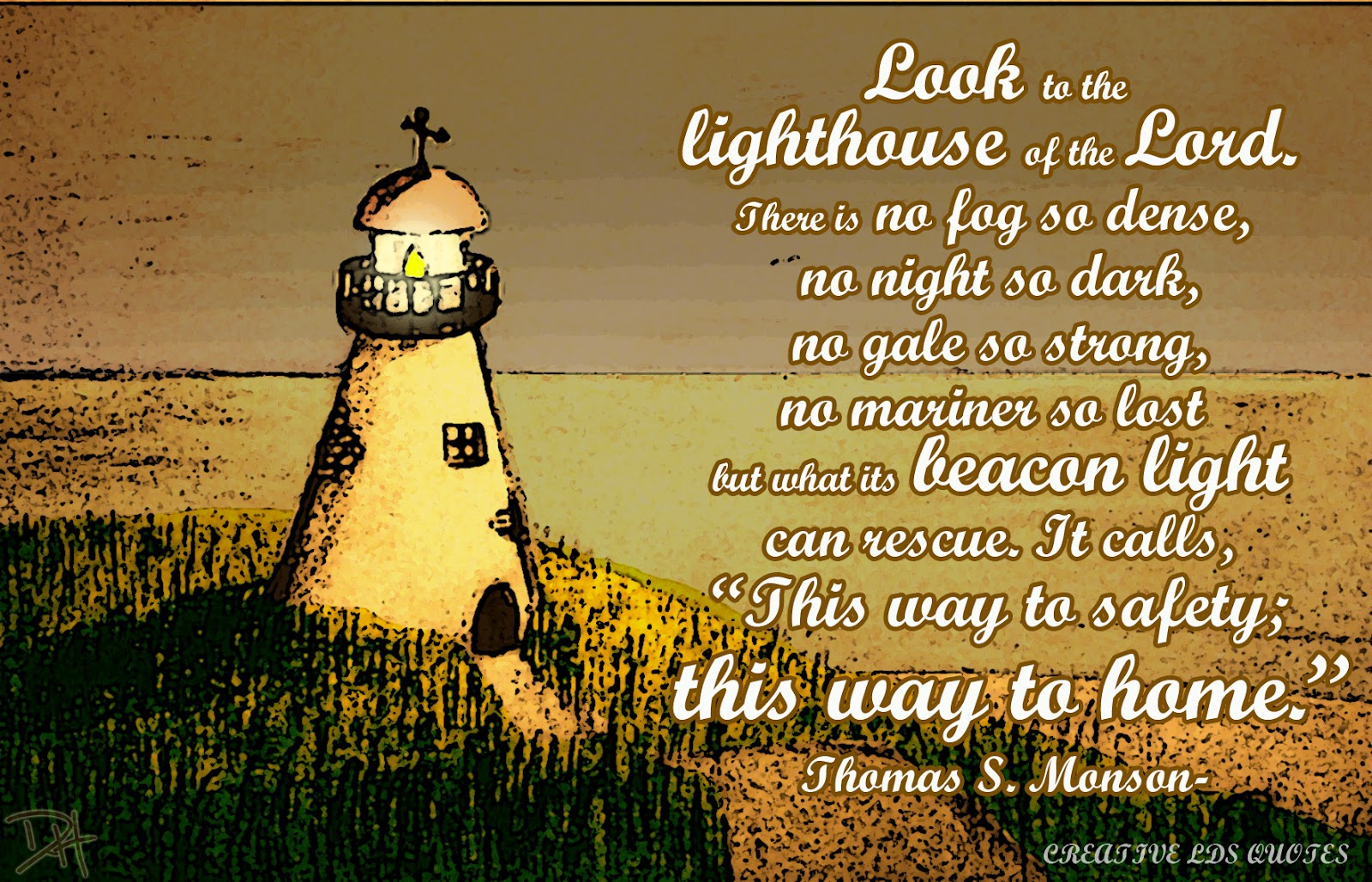 Beacon Of Light Quotes