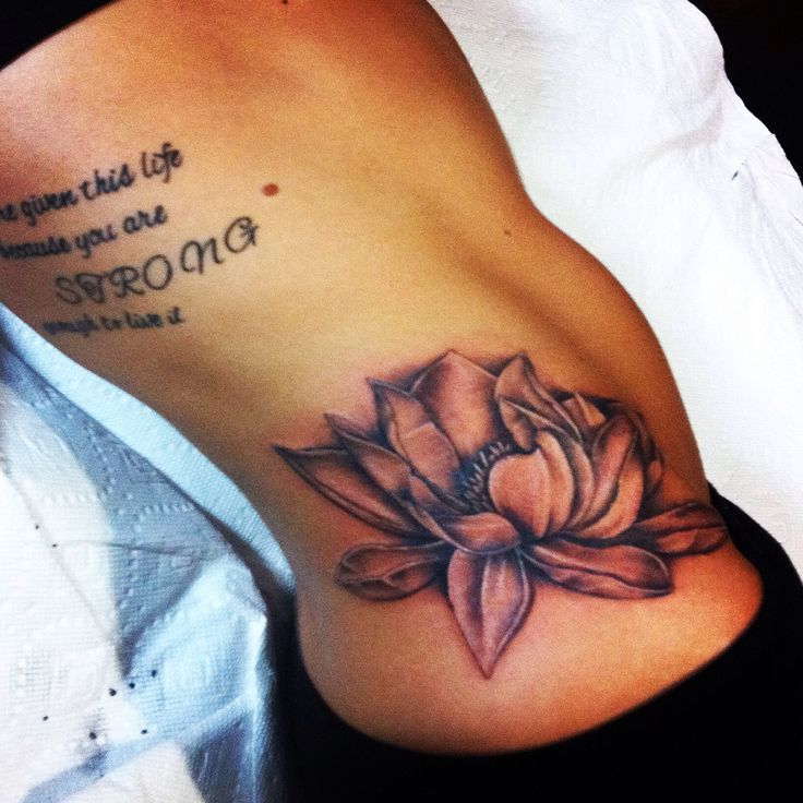Tattoo Quotes Down Side Body: Lotus Flower Quotes. QuotesGram