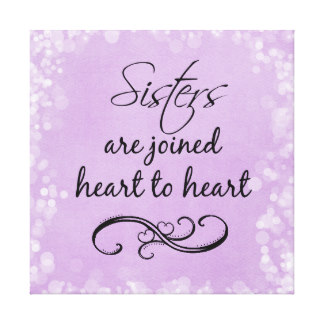 For Sister Quotes Canvas Painting Quotesgram
