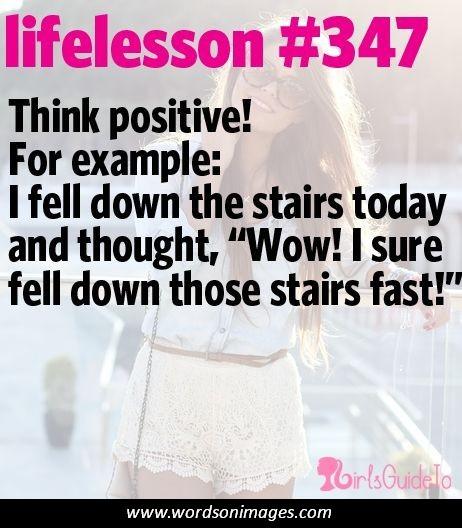 Think Positive Be Optimistic Quotes: Funny Optimistic Quotes. QuotesGram