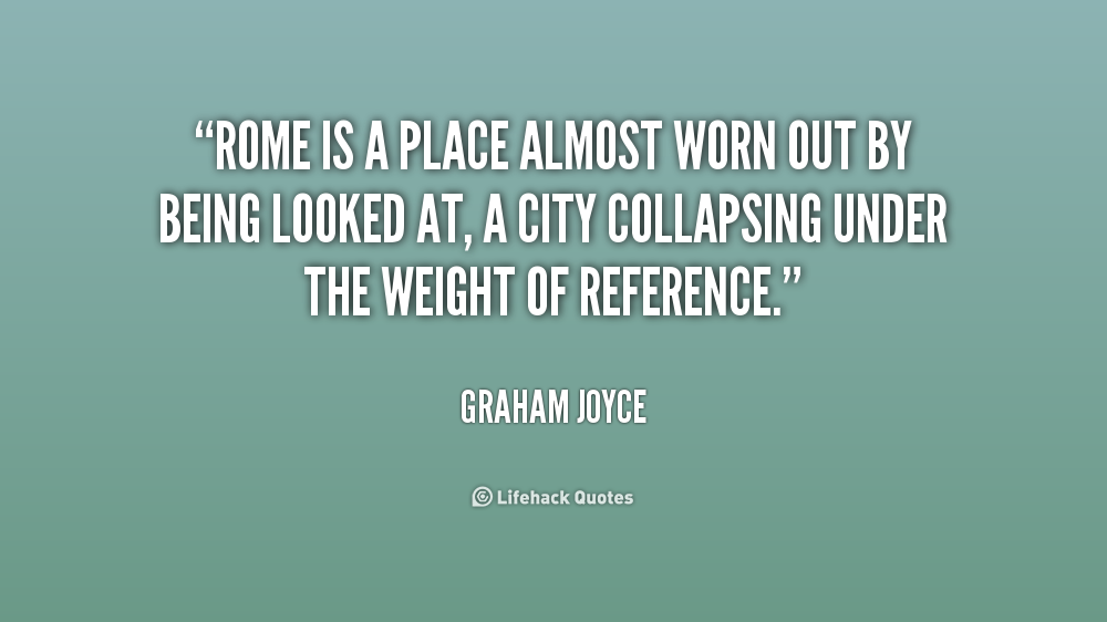 Graham Joyce Quotes. QuotesGram