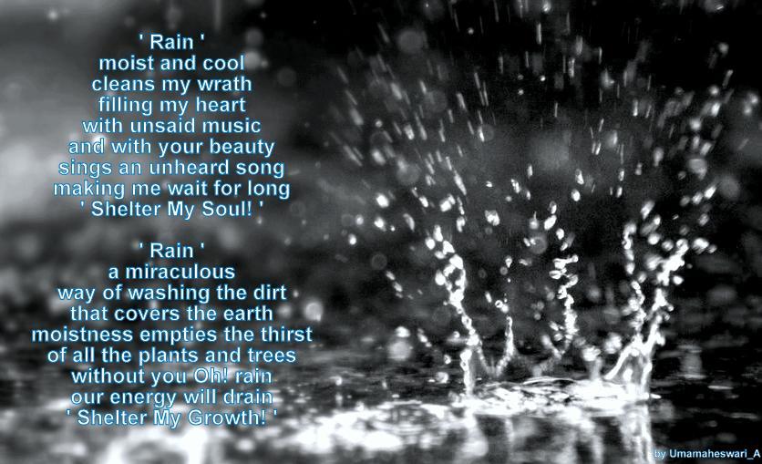 beautiful essays on rain