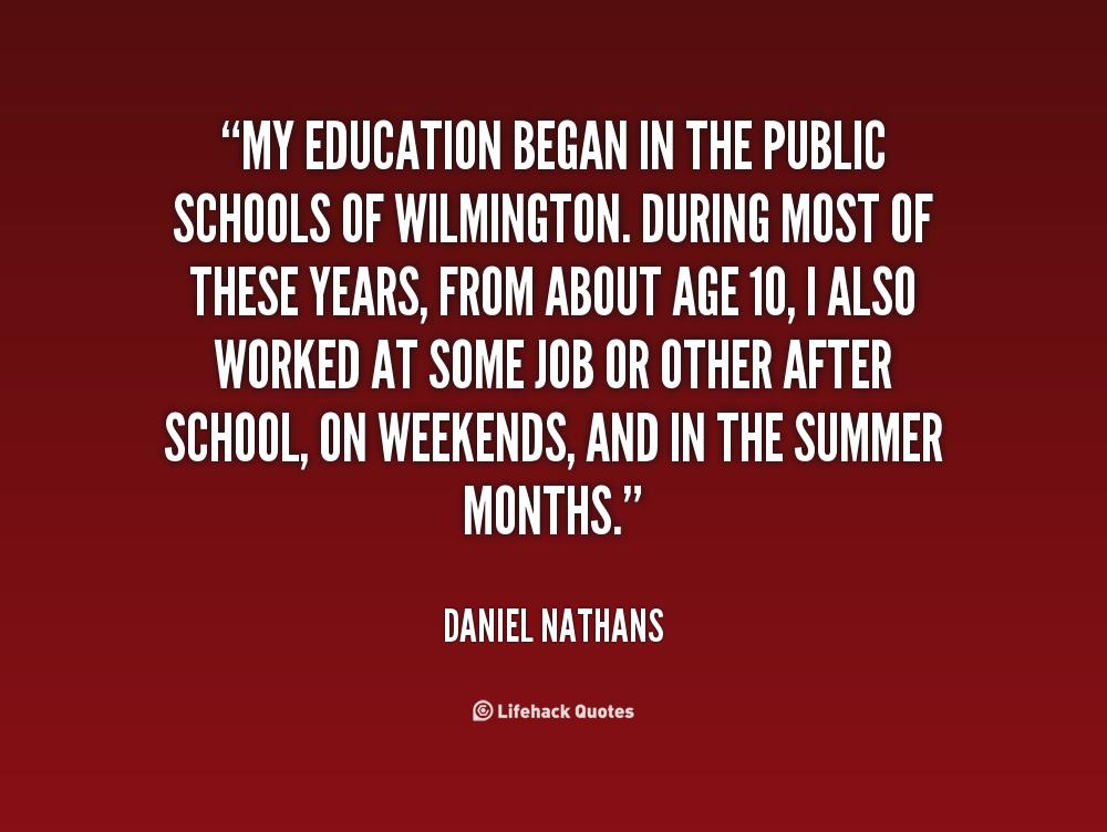 Education Quotes: Public Education Quotes. QuotesGram