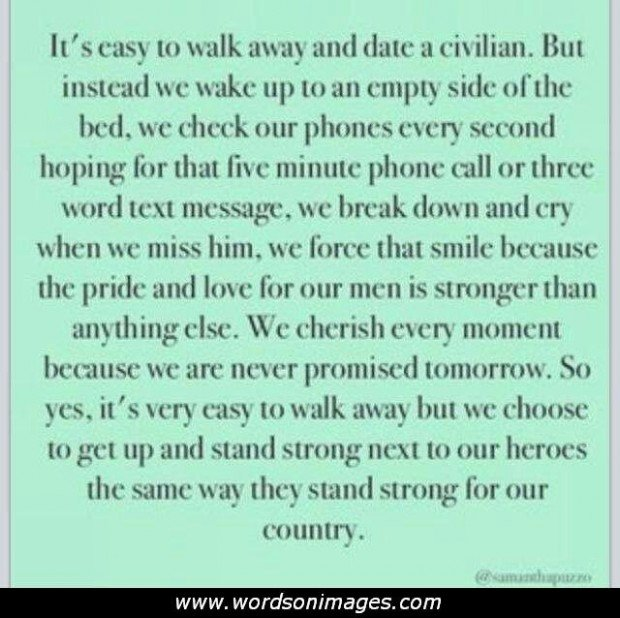 Military Love Quotes For Him: Army Love Quotes. QuotesGram