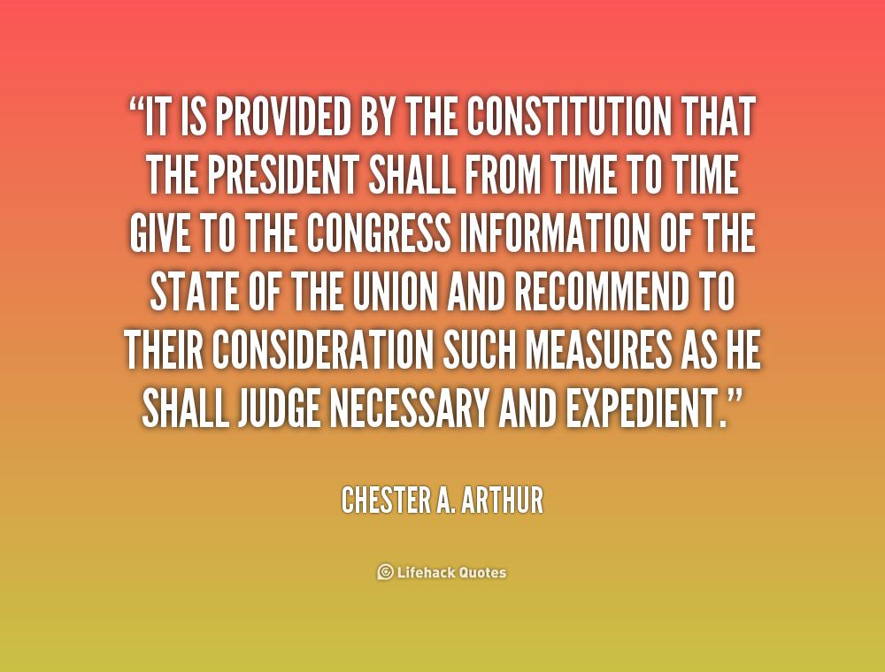 Chester A. Arthur Quotes. QuotesGram