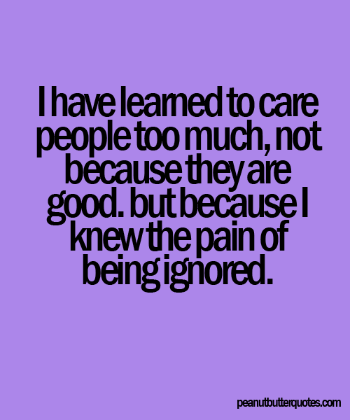 Being Ignored Quotes Tumblr: Being Ignored Quotes For Facebook. QuotesGram