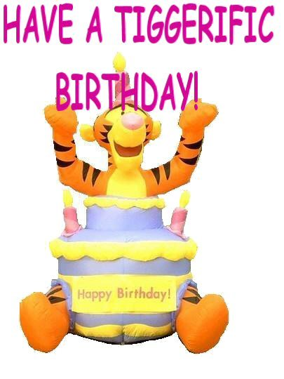 Tigger Birthday Quotes Quotesgram