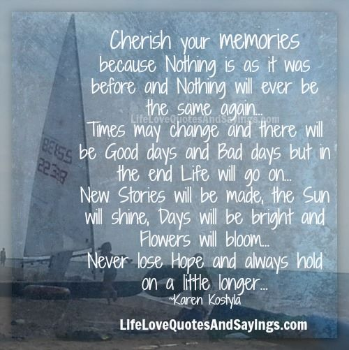 Good Memories Quotes: Memory Quotes And Sayings. QuotesGram