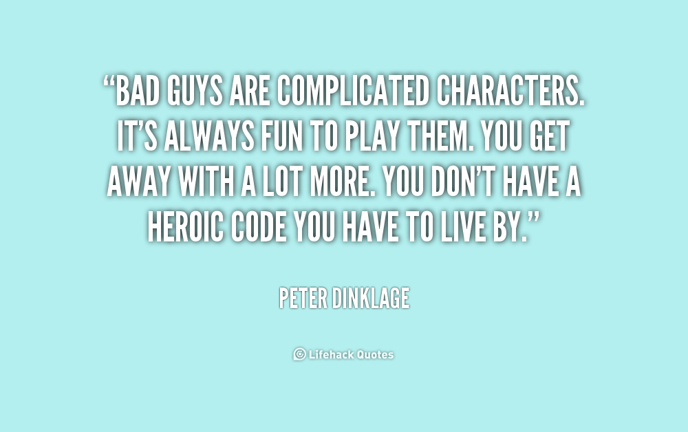 Bad Character Quotes. QuotesGram