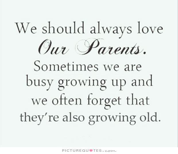 12 Year Old Love Quotes: Quotes Love Parents Growing Old. QuotesGram