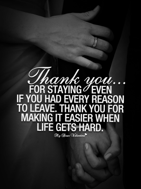 You boyfriend to me for loving thank message 101 Thank