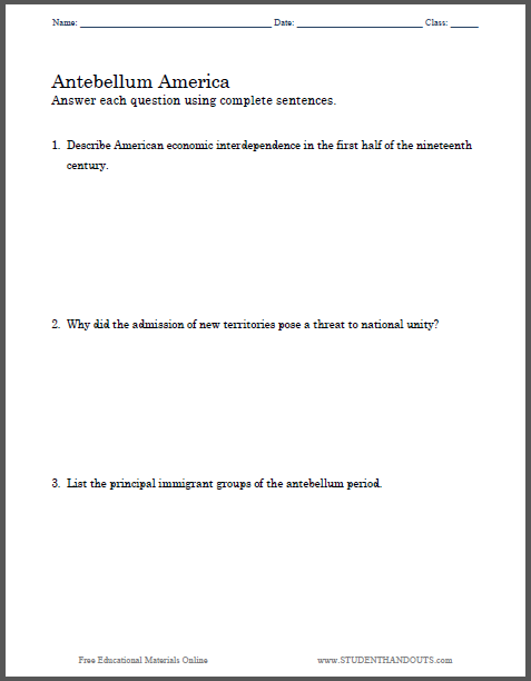 dbq antebellum reform essay