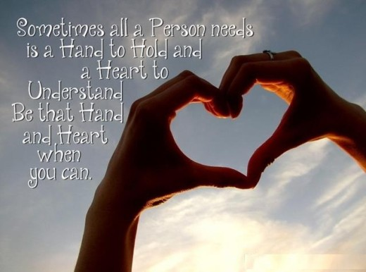 Quotes About Hands And Hearts. QuotesGram