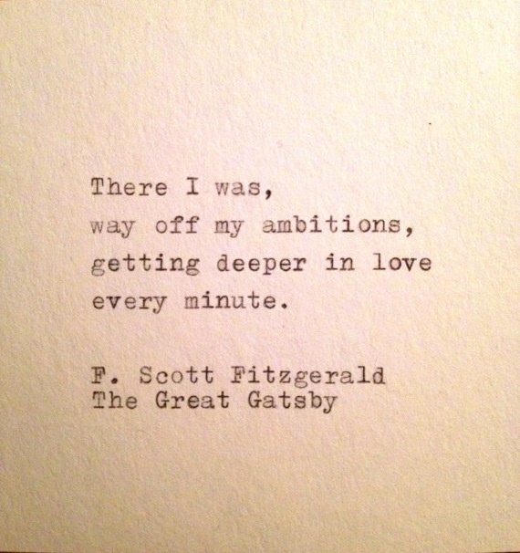 the great gatsby by f scott fitzgerald gatsbys love for daisy F scott fitzgerald's classic novel the great gatsby deals with the failure of the great american dreamthis book follows jay gatsby as he struggles to become wealthy with the hope of winning back daisy, the woman he loves.