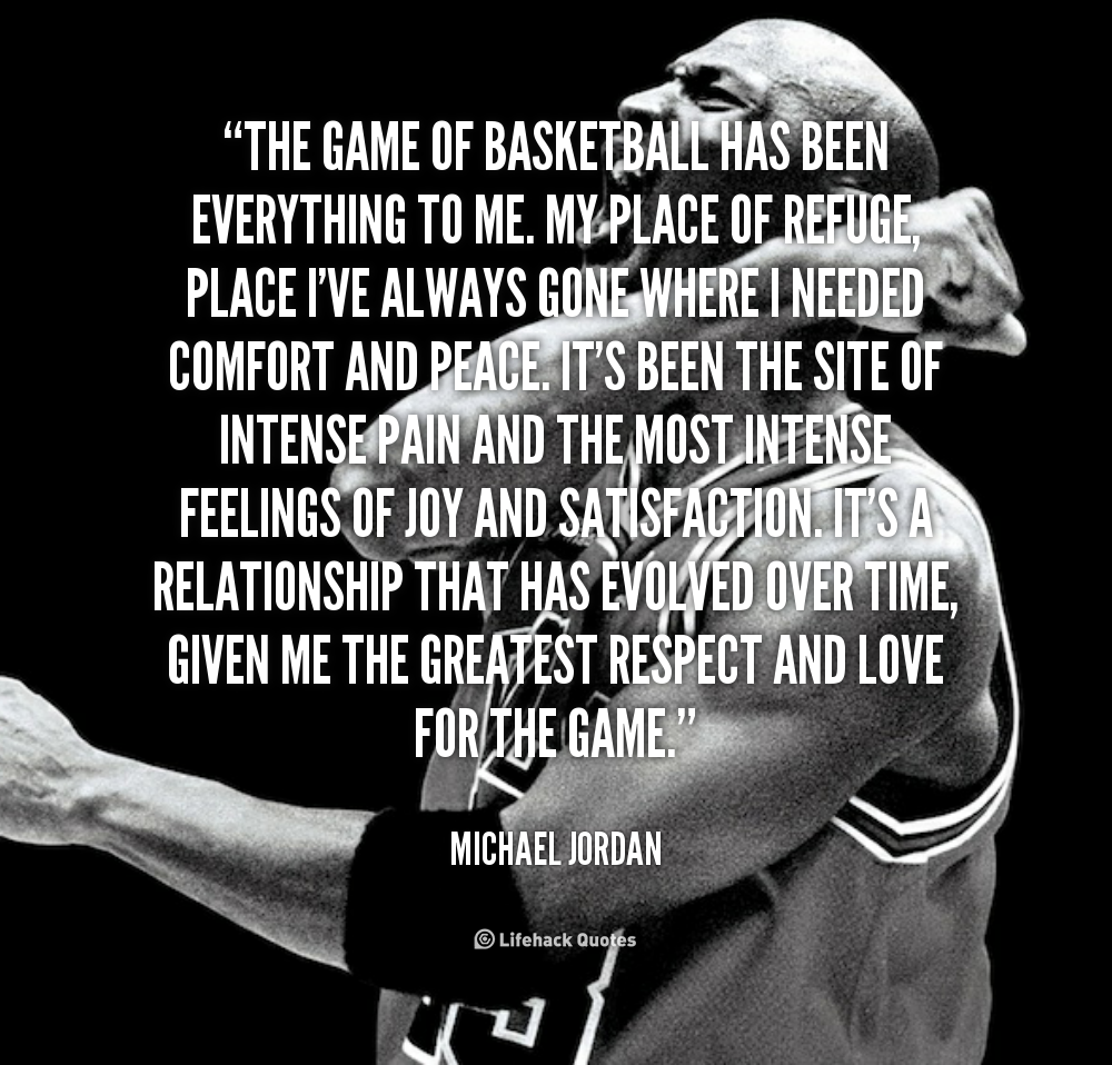 Motivational Quotes For Sports Teams Last Game: Michael Jordan Basketball Quotes. QuotesGram