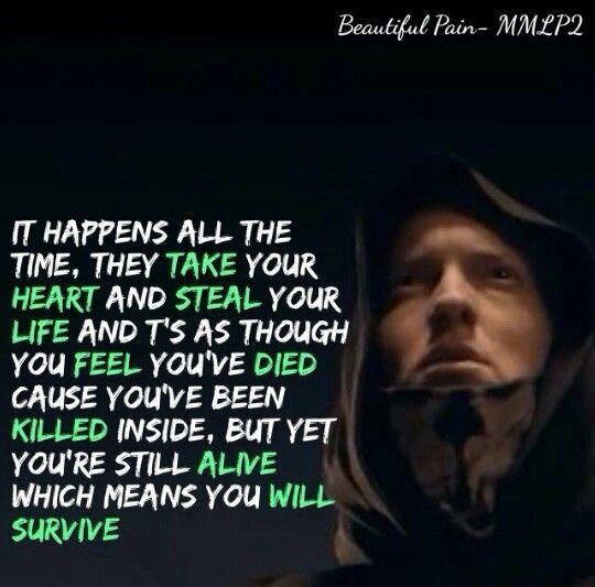 Beautiful Quotes By Eminem. QuotesGram