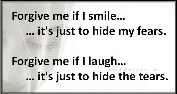 Hide My Tears Quotes. QuotesGram
