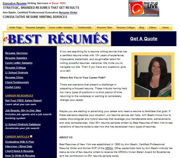 Resume and cv writing services reviews uk