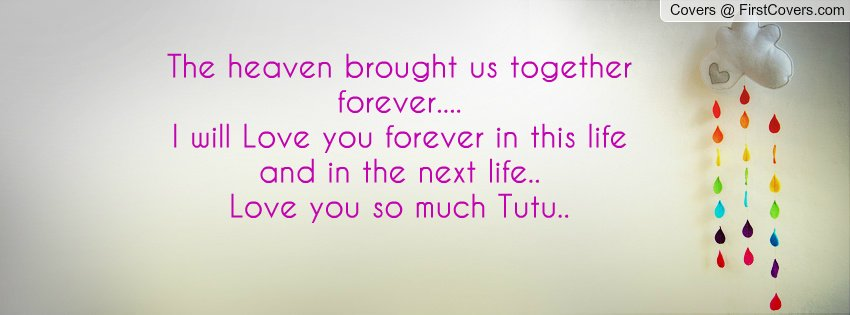 Love Brought Us Together Quotes. QuotesGram