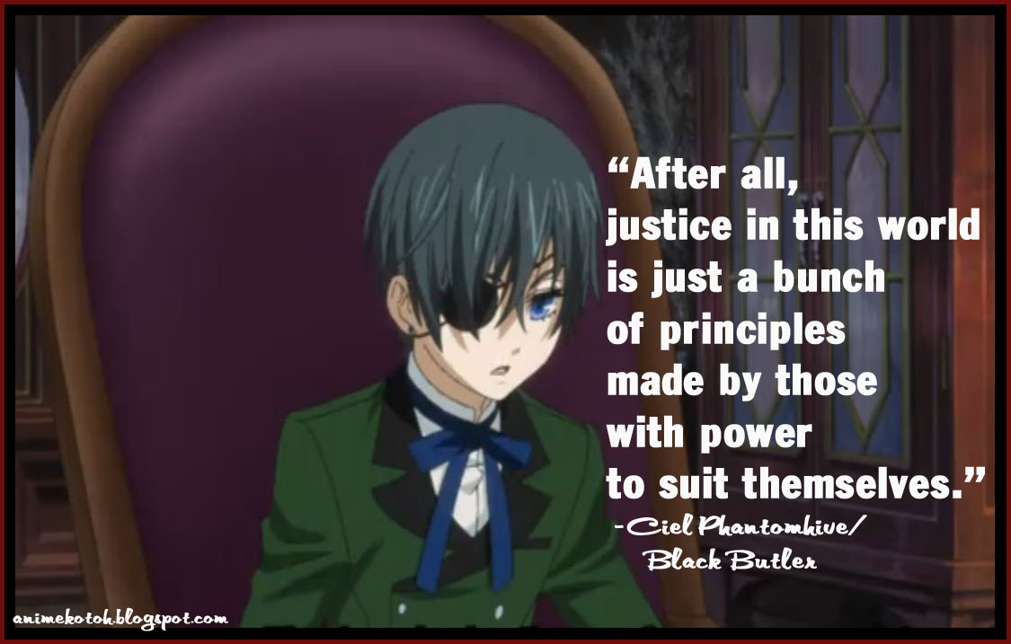 Tiger Woods Funny >> Black Butler Quotes. QuotesGram