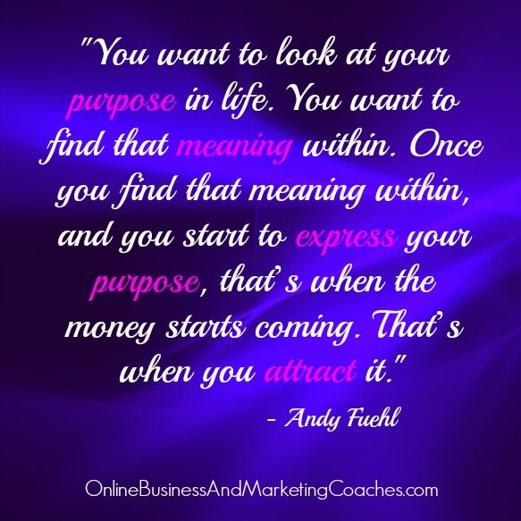 Love Finds You Quote: Finding Your Purpose Quotes. QuotesGram