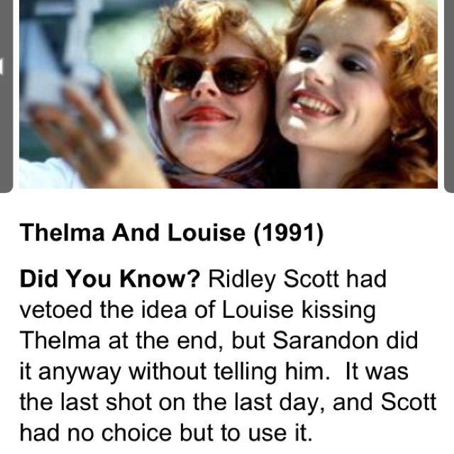 an analysis of thelma and louise a movie A look at how language and voice reflect the patriarchy in the film thelma and louise thelma and louise: the language of patriarchy movie, and your analysis.