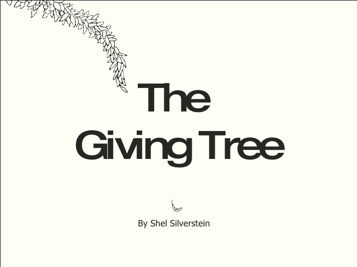 Tree Shel Silverstein Quote: Book The Giving Tree Quotes. QuotesGram