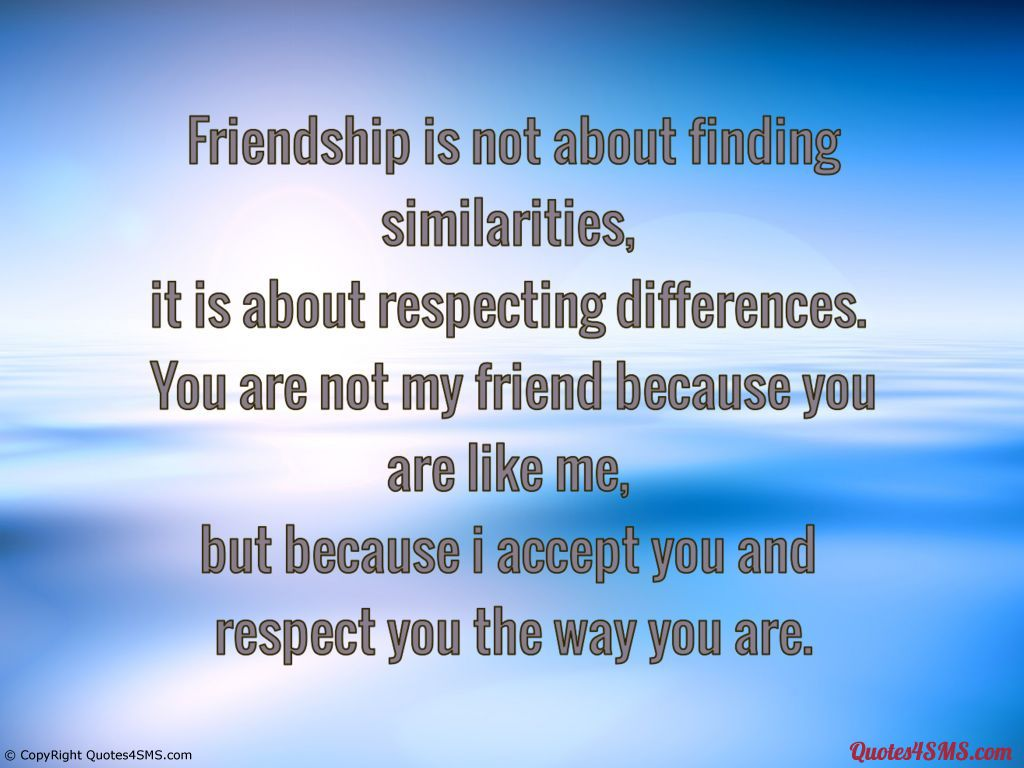 Quotes About Respect In Friendship : Quotes about respect quotesgram