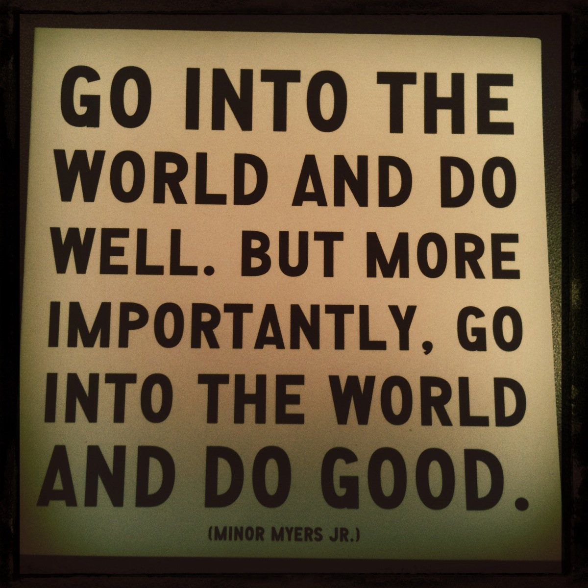Be Great Quotes: Great Quotes About Philanthropy. QuotesGram