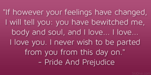 Relationships in pride and prejudice