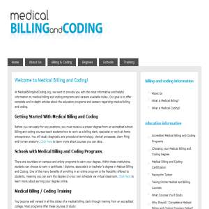 Sample of medical coding resume