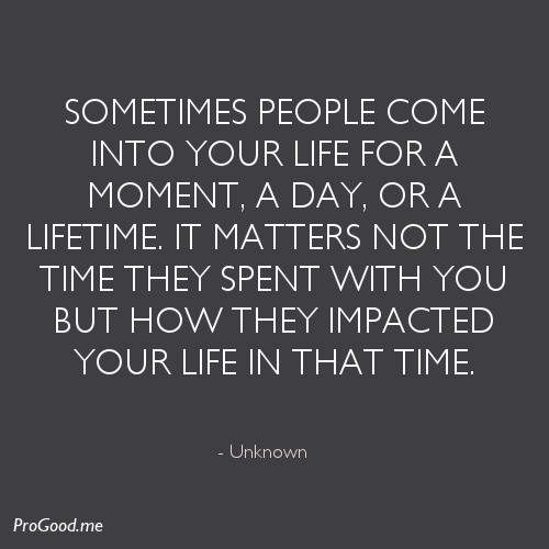 People In Your Life Quotes. QuotesGram