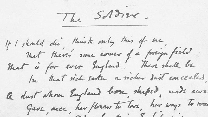 essays on war poetry