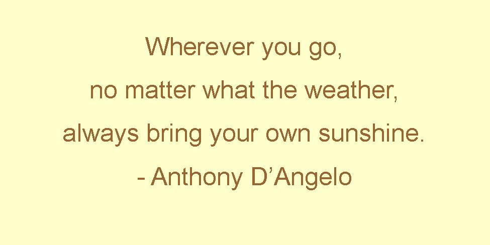 quotes about sunshine - photo #45