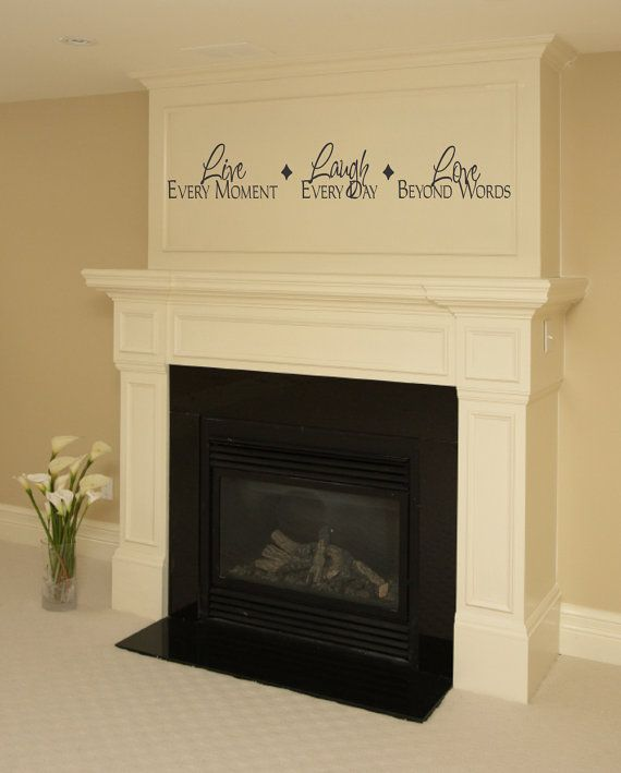 Vinyl Wall Quotes About The Fireplace Quotesgram