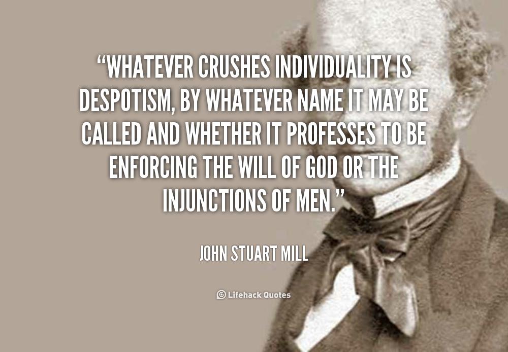 John Stuart Mill - University of Notre Dame