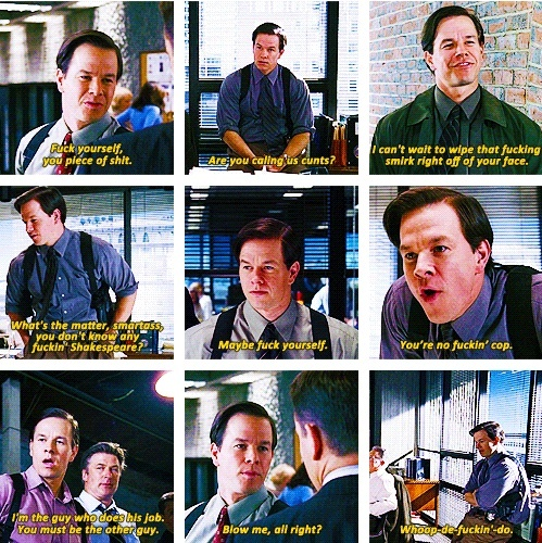 The Departed Martin Scorsese: Mark Wahlberg The Departed Quotes. QuotesGram
