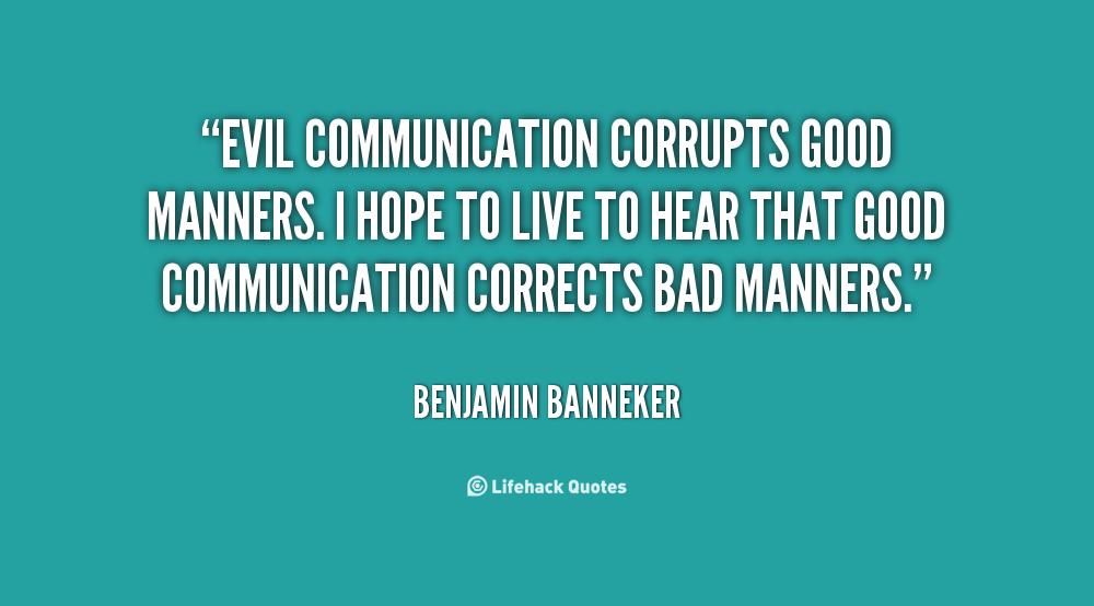 bad communication