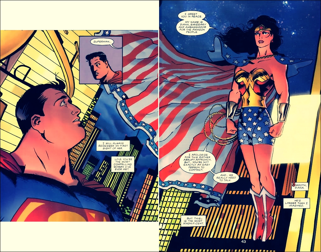 Superman And Wonder Woman Quotes. QuotesGram