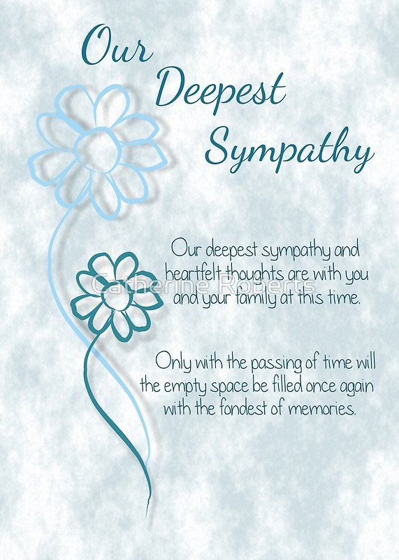 Our Deepest Sympathy Quotes Quotesgram