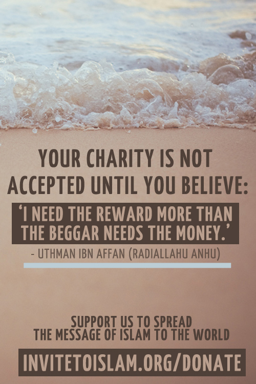 charity in islam quotes  quotesgram