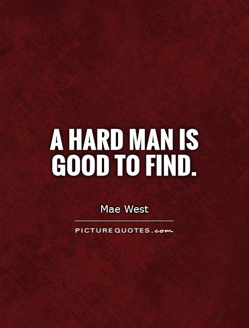 I want to find a good man
